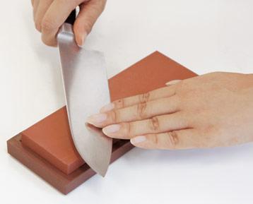 チョコレー砥で研ぐ